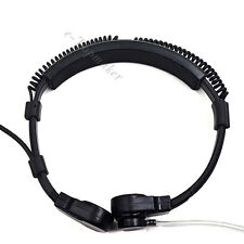 Military Tactical Throat Mic Headset Earpiece for Cobra Two Way Radio CX112/312
