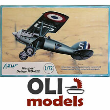 1/72 Nieuport-Delage NiD-4622 C1 Fighter French Air Force & Navy - Azur A083