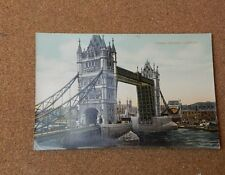Tower bridge London Tinted card unposted Star series  XC1