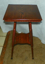 Solid Oak Lamp Table / Side Table  (T478)