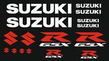 Suzuki Motorsport Aufkleber Racing Set für Motorrad GSXR 600 750 1000