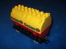 LEGO DUPLO VILLE EISENBAHN OCTAN RIESIGER WAGGON ANHÄNGERKUPPLUNG aus 5609 Wow