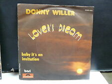 DONNY WILLER Lover's dream 2056400