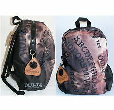 NEW Ouija Board Oracle Large Zipper Backpack School Planchette Charm Book Bag