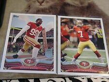 San Francisco 49ers 210-220 Cards Team Lot of Stars & Commons NFL Football