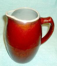 """LOVELY VINTAGE """"COUNTRY FAiRE"""" RED WING  STONEWARE POTTERY PITCHER """"EXCELLENT"""""""