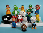 12 pcs New Lovely Lots Nintendo Super Mario Bros Action Figure Toys Gift