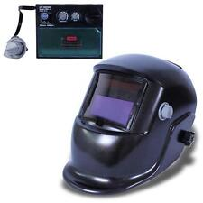 Pro Solar Auto Darkening Welding Helmet Arc Tig Mig Grind Mask Power Tips #L TR