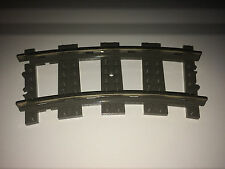 LEGO TRAIN 9V OLD TRACKS PIECES 200 x CURVED TRACKS - TRACK FOR LEGO