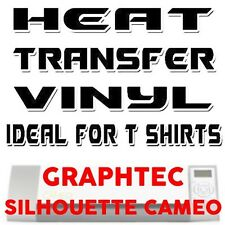 HEAT TRANSFER VINYL (Silhouette Cameo blades t-shirts) 3 PIECES x 30cm x 50cm