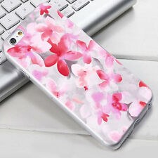 Rubber Soft TPU Silicone Slim Painting Flower Case Cover For iPhone 4 5 6 7 Plus