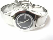 Gucci Women's Stainless Steel Signature Dial Bangle with Buckle Watch - YA067508