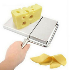 Cheese Slicer Cutter Board Stainless Steel Wire Cutting Kitchen Hand Tool SL