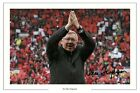 SIR ALEX FERGUSON MANCHESTER UNITED SIGNED PHOTO AUTOGRAPH PRINT SOCCER