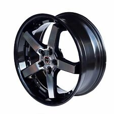 4 GWG Wheels 20 inch Black S970 Rims fits 5x114.3 ET35 FORD EXPLORER 2002 - 2016