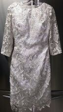 Stunning Modest Lace Dress MOB Wedding Guest Special Occasion