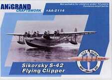 Anigrand Models 1/72 SIKORSKY S-42 FLYING CLIPPER American Flying Boat