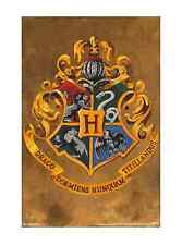 HARRY POTTER- HOGWARTS CREST 24X36 POSTER MOVIE FANTASY ROWLING WALL ART DECOR!!