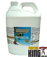 BANABAN 5L EXTRA VIRGIN COCONUT OIL JERRY CAN 100% ORGANIC FIJI COLD PRESSED 5L