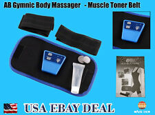 AB Gymnic Slimming Electronic Muscle Arm leg Waist Massage Belt-2 Lose Pack Deal