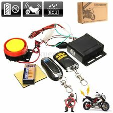 Alarma Antirrobo de Moto Motocicleta con Mando a Distancia Sistema Seguridad 12V