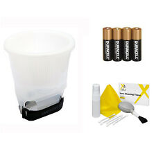 Gary Fong LSUCLOUD Lightsphere Universal Cloud Diffuser + Cleaning Kit + 4 AA