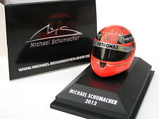 HELM HELMET SCHUMACHER MERCEDES GP FINAL EDITION 2012 SCHUBERTH MINICHAMPS 1/8