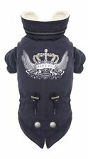 Puppy Angel Barmy Army Dark Blue Navy Dog Coat Jacket Large
