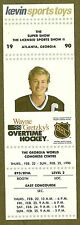 1990 Atlanta Super Show Kevin Sports Toys Promo Card, Gretzky's Overtime Hockey