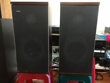 B&W DM-4 speakers made in England