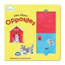 Little Sliders Opposites by Janet Samuel 9781909290587 (Hardback, 2014)
