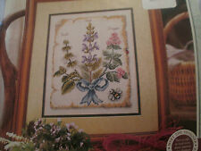 'The Fresh Scent Of Herbs' Elizabeth De Lisle Cross Stitch Chart(only)