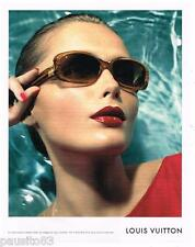 PUBLICITE ADVERTISING 105  2006  LOUIS VUITTON  lunettes solaires