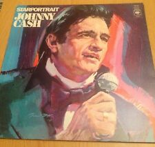 JOHNNY CASH - Star  Portrait - 1972 Vinyl LP - CBS67201 - Double Album A1 Press