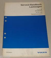 Werkstatthandbuch Volvo LKW Truck FL12 LHD Schaltpläne, Stand 1995