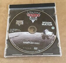 Moon Mater Air Mater Disney Pixar Cars DVD sampler cartoon disc