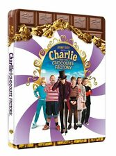 OVP - BLU RAY LTD STEELBOOK - UV CODE - CHARLIE AND THE CHOCOLATE F. - DT. TON