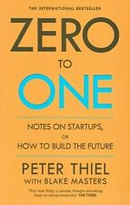 Zero To One by Peter Thiel NEW
