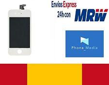 Pantalla repuesto Iphone 4s blanca LCD 100% original máxima calidad envio 24h