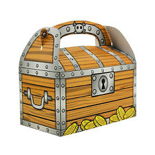 Treasure Chest GoodieTreat Bag PIRATE Birthday Party Loot Favors Favor 48 Boxes