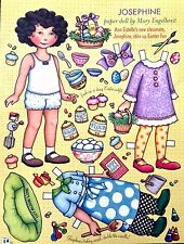 MARY ENGELBREIT Mag. Paper Doll, Josephine, April/May 2005, Uncut
