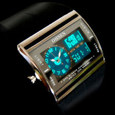 US HOT OHSEN Digital LED Date Rubber Sport Waterproof Mens Boy Wrist Watch