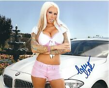 Lolly Ink Adult Film Star Signed 8x10 Photo #131 Desire Films Sticky Evil Angel