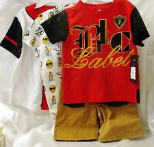 Lot Of 3T Toddlers Clothes Rocawear, Black Lacquer, & Blac Label Free Shipping