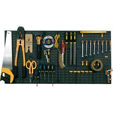 Peg Board Kit di strumenti Garage Officina Strumento Organizer Storage Panel e clip