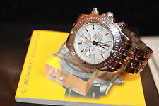 Breitling Windrider Chronomat Evolution A13356 in weiss - Full Set Papiere & OVP