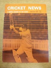 04/06/1977 Cricket News: Vol.01 No.06 - A Weekly Review Of The Game, Cover Image