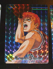 SLAM DUNK PART 1 CARDDASS PP TV CARD PRISM CARTE 1 PF BANDAI MADE IN JAPAN 1994