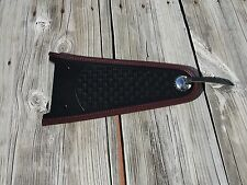 Heritage Springer Fender Cover FLSTS Burgundy