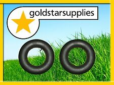 2 x tubes - 20 X 800 X 8 straight valve - suits many ride on mower tyres